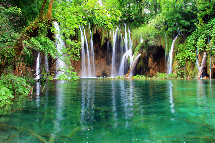 Emerald Plitvice Lakes and Rastoke Mills